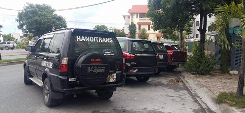 Cho thuê xe tại Thanh Xuân Hà Nội