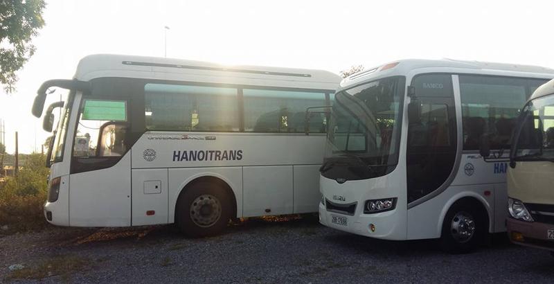 Hanoitrans cho thuê xe 35 chỗ đi Đồ Sơn