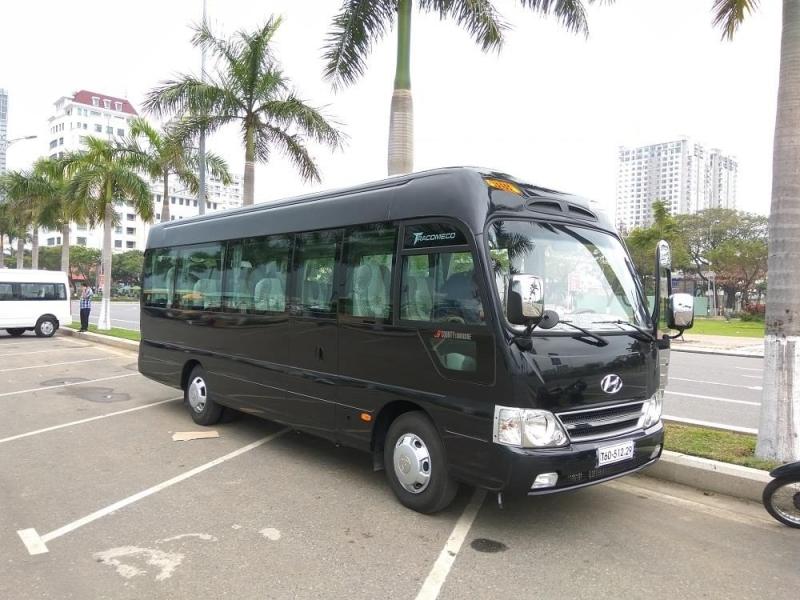 Cho thuê xe 35 chỗ đi biển Hải Thịnh