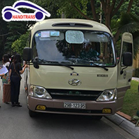 Cho thuê xe 29 chỗ đi biển Hải Tiến